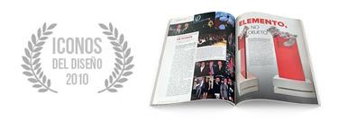 Premio Iconos del Diseño 2010
